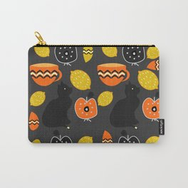 Cats, lemons and teacups Carry-All Pouch