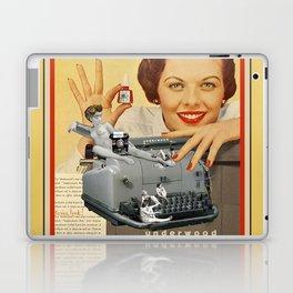 Friday Night in the Typing Pool Laptop & iPad Skin