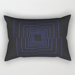 //BLUE Rectangular Pillow
