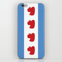 Chicago Flag - Duckies  iPhone Skin