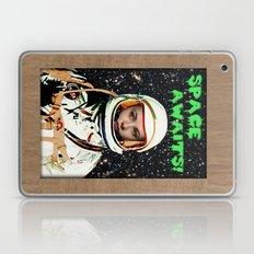 SPACE AWAITS GENE TIERNEY Laptop & iPad Skin