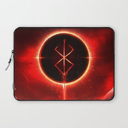 Berserk Demon Mark Moon Laptop Sleeve