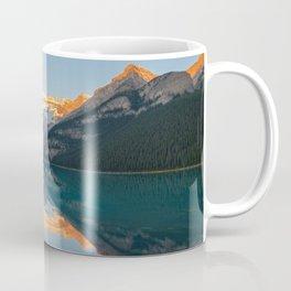 Lake Louise Sunrise Reflection Canadian Rockies Banff National Park Landscape  Coffee Mug