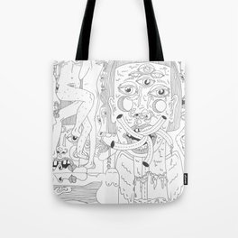 Vomiting Girls 1 Tote Bag
