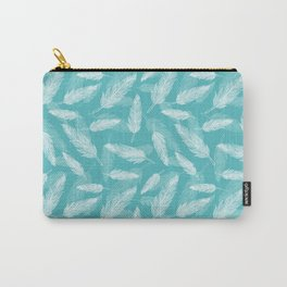 Seamless feathers pattern Carry-All Pouch