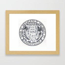 Sigil of the Open Hand Framed Art Print