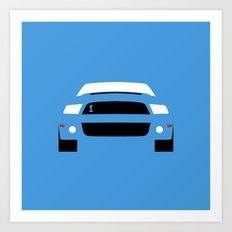 Ford Mustang Shelby GT500 ( 2013 ) Art Print