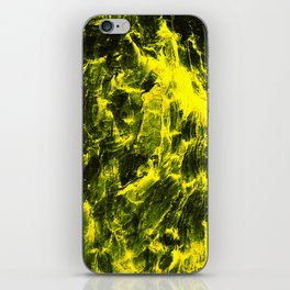 Yellow Abstract iPhone Skin