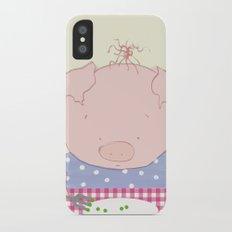 Not pea's again Slim Case iPhone X