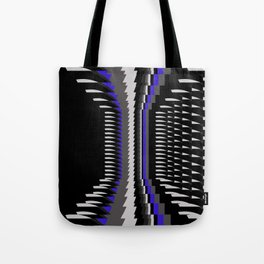 Interesting Unbalanced Stripes Tote Bag