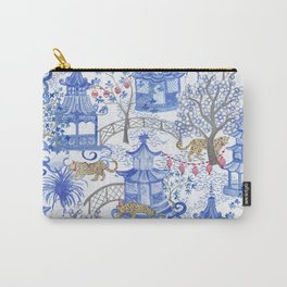 Party Leopards in the Pagoda Forest Carry-All Pouch