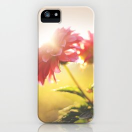 Morning Flowers iPhone Case