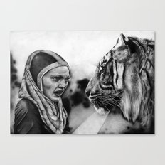 In the Eye of the Tiger Canvas Print