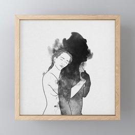 Sweet surrender. Framed Mini Art Print