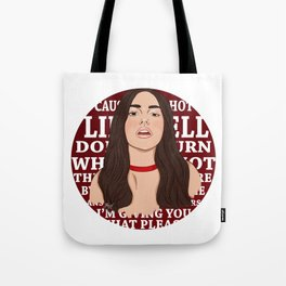 Hotter Tote Bag