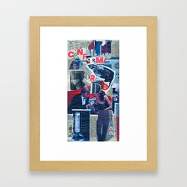 Conform or Die Framed Art Print