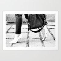 Dream Walk Art Print