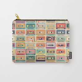 Retro 90s Mixtapes Carry-All Pouch