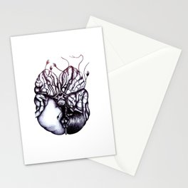 Without glucose, the brain can function for 2 min. Without oxygen, the brain can function for 8 min. Stationery Cards