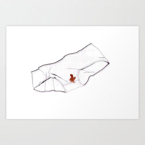 Knickers Art Print