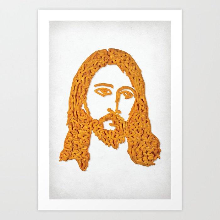 Cheesus Art Print