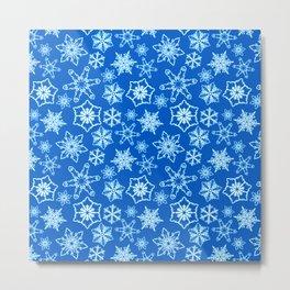 Winter Freeze Metal Print