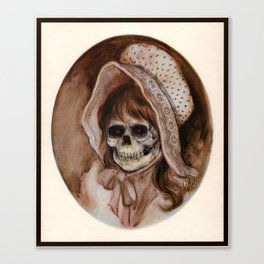 Cowgirl Kid - Thrift Store Creepin' Canvas Print
