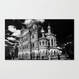 Saviour on spilled blood \\ St Petersberg, Russia Canvas Print