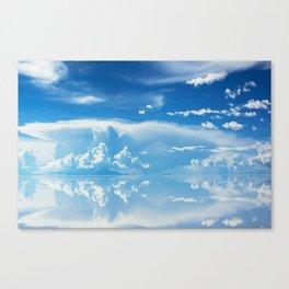 Salt Flats of Salar de Uyuni, Bolivia #3 Canvas Print