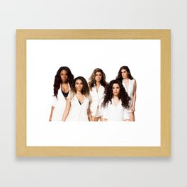 Fifth Harmony Framed Art Print