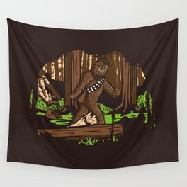 The Bigfoot of Endor Wall Tapestry