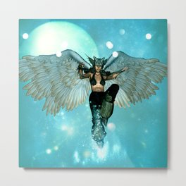 Wonderful angel in the sky Metal Print
