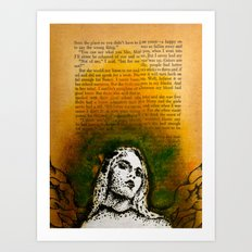 Wings Series Two (Angel)  Art Print