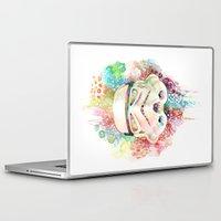 stormtrooper Laptop & iPad Skins featuring Stormtrooper by Veronika Weroni Vajdová