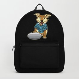 Dog guards Rugby Ball Backpack