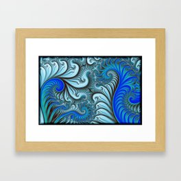 The Surf is up Framed Art Print