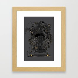 Clamped Framed Art Print