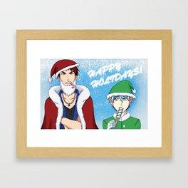 Kuroko no Basuke: Happy Holidays! Framed Art Print