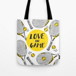 Tennis - Love the game Tote Bag