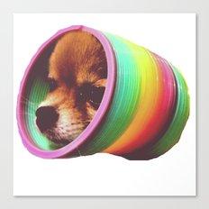 Slinky Dog! Canvas Print