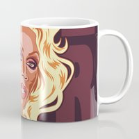 rupaul Mugs featuring Love Yourself by Emily Swedberg (Ito Inez)