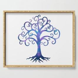 Twilight Tree Serving Tray