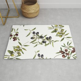 olive branches Rug