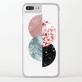 Lovely textures Clear iPhone Case