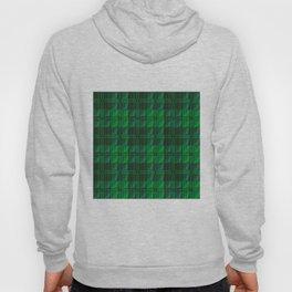 Dark Green Tartan Hoody