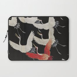 Furisode with a Myriad of Flying Cranes (Japan) Laptop Sleeve