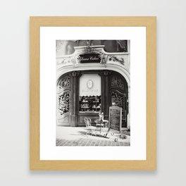 Dame Cakes Framed Art Print