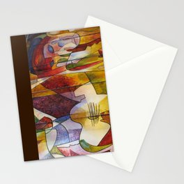 Divergent Threads, Lucent Memories Detail Stationery Cards