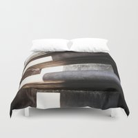 shiva Duvet Covers featuring Shrine of Shiva by Four Hands Art