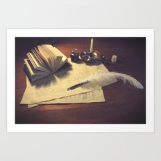Sophistication  Art Print